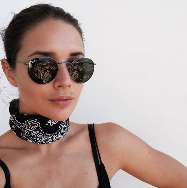 Neck Scarves Are THE Breakout Accessory Of Summer