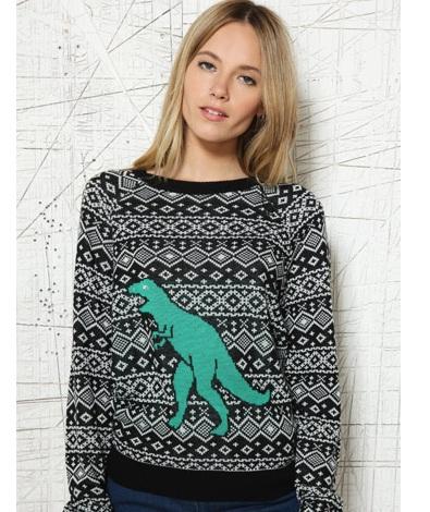 Cooperative T-Rex Sweater