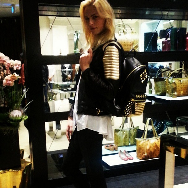 Andrej Pejic Gets Cryptic