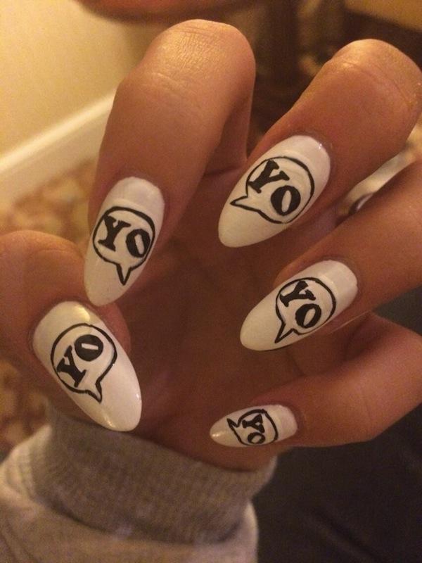 Lily Allen Nails It
