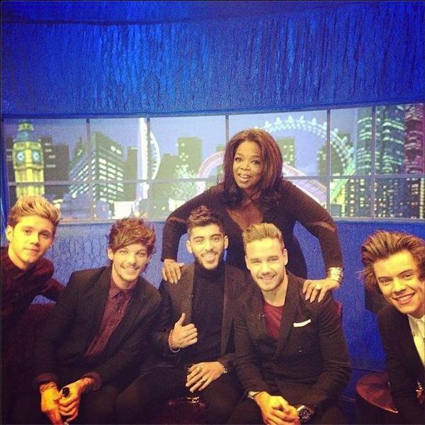 When Oprah Met One Direction