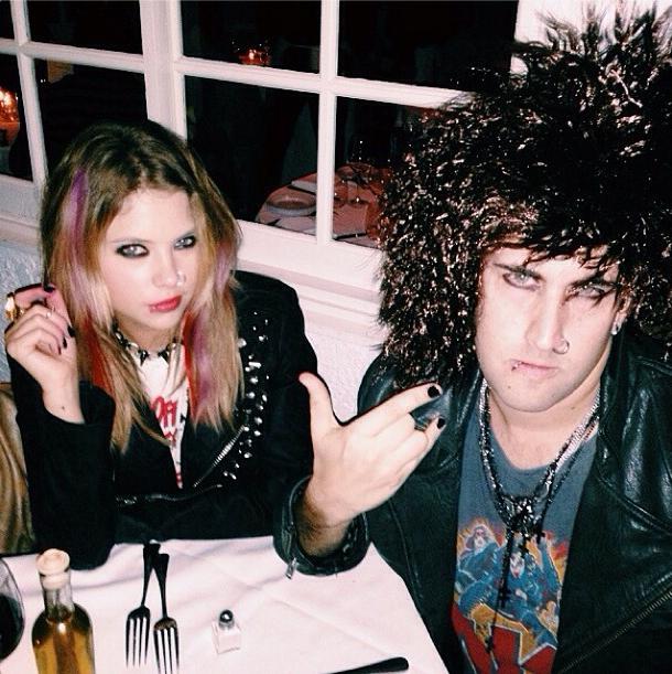 Ashley Benson's Pretty in Punk