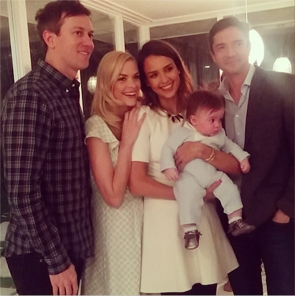 Jaime King's Star-Powered Family Portrait