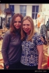 Stella McCartney and Chelsea Clinton