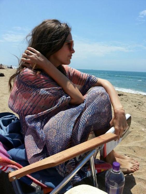 Louise Roe's Beachy Kaftan