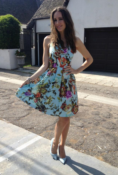 Louise Roe's Floral Ted Baker