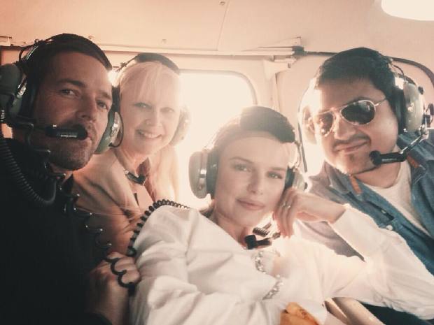 Kate Bosworth Takes Flight