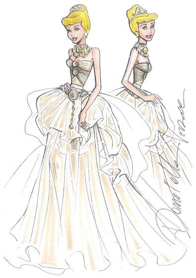 Versace Dresses Cinderella