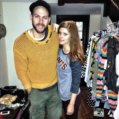 Kate Mara Cross-Dresses with Her Stylist