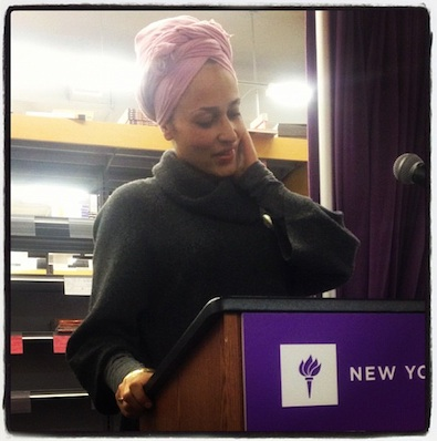 Prabal Gurung Hearts Zadie Smith