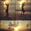 Selita Ebanks on the Beach