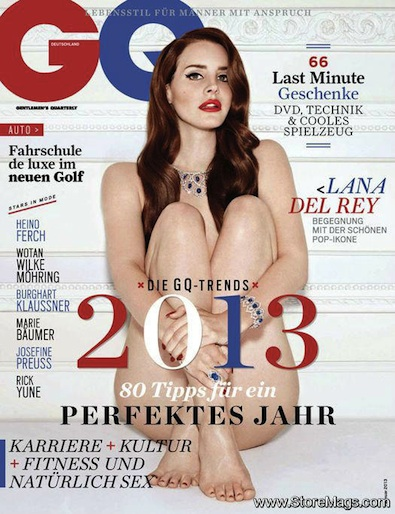 Lana Del Rey on the Cover of German GQ