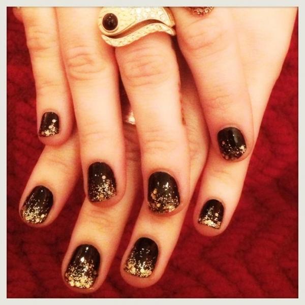 Demi Lovato Loves Her Nails