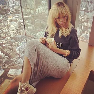 Rihanna in Japan