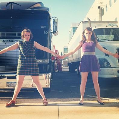 Lena Dunham Keeps on Truckin