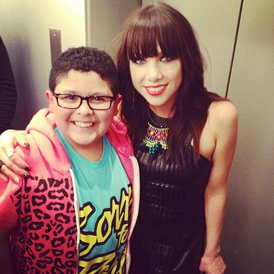Carly Rae Jepsen and Manny