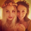 Whitney Port is a Flower Child