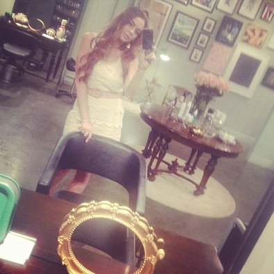 Lindsay Lohan Returns to Her Roots
