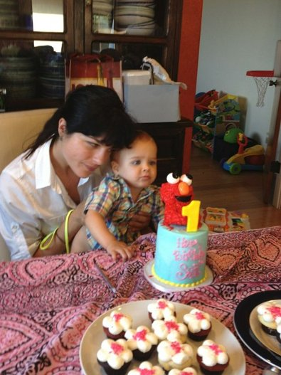 Selma Blair Celebrates Her Baby Boy's Birthday