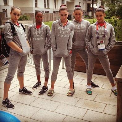 Five Fierce Gymnasts