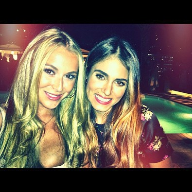 Alexa Vega Catches up with Nikki Reed