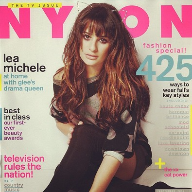 Lea Michele Covers Nylon