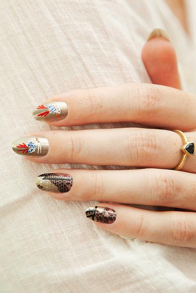 Proenza Schouler's Fall Runway Nails