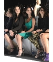 Olivia Munn Likes the Seating Arrangements at NYFW