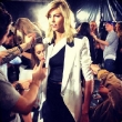 Anja Rubik Kicks off Fashion Week
