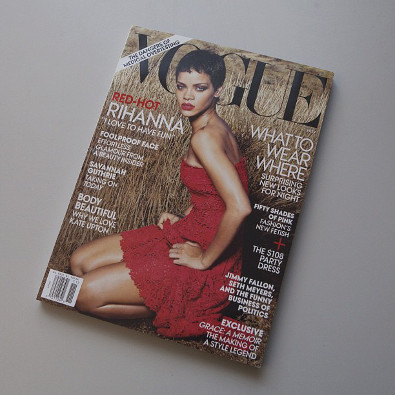 Rihanna's Second Vogue Cover