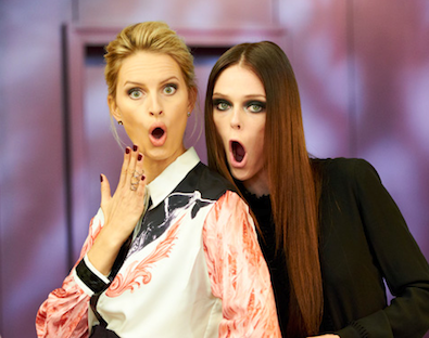 Karolina Kurkova and Coco Rocha are Partners in Crime