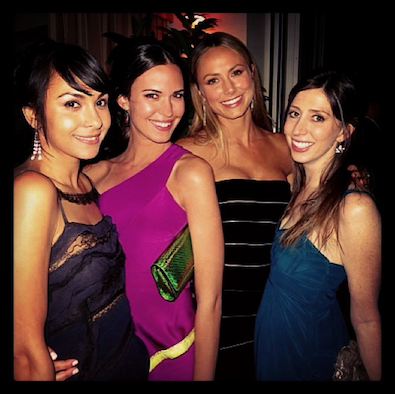 Stacy Keibler and her Ladies