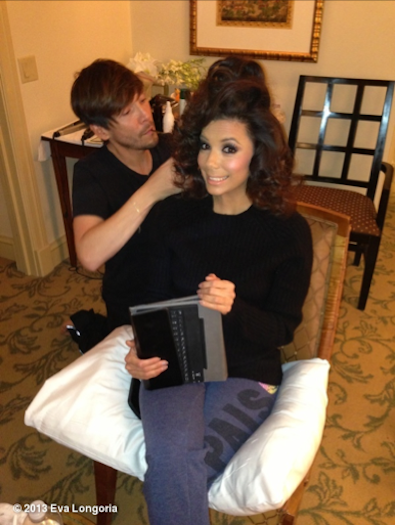 Eva Longoria's High Hair