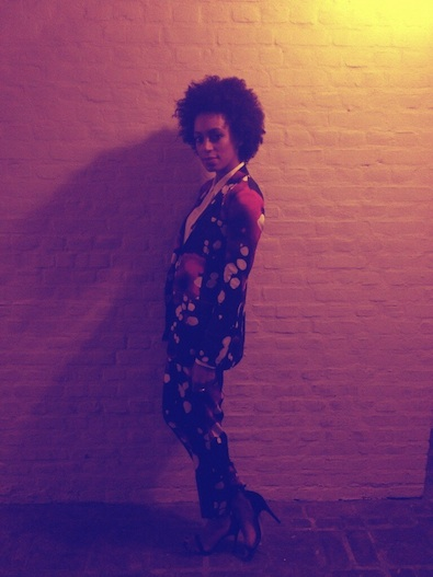 Solange Knowles' Pre-Grammy Vibe