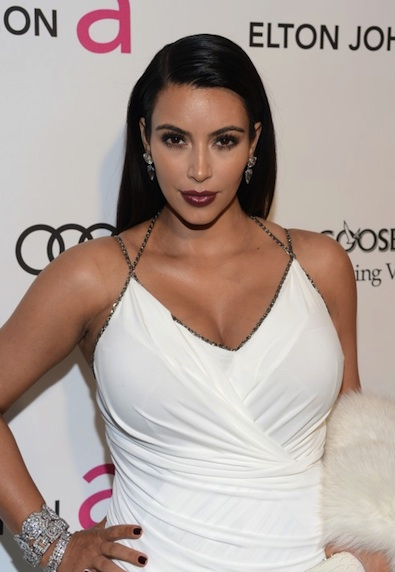 Kim Kardashian Tries a New Look
