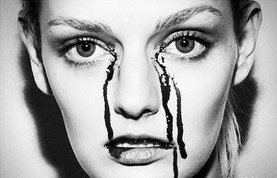 Lydia Hearst Sheds a Tear
