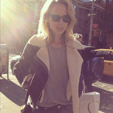 Elin Kling in Soho