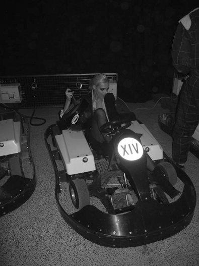 Anja Rubik at Kanye's Afterparty