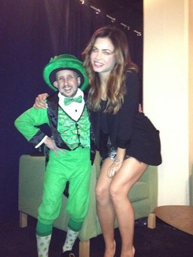 Jenna Dewan-Tatum Celebrates St. Patrick's Day