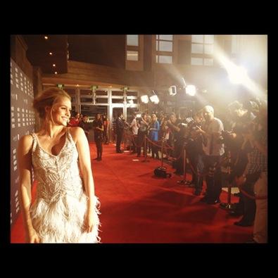 Teresa Palmer on the Red Carpet