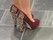 Katherine Heigl's Ruby Slippers