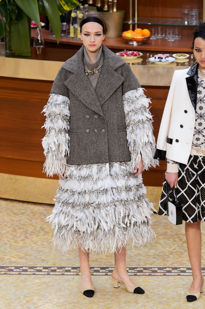 16 most ugly dresses from the 2015 runways thefashionspot chanel fall 2015 junglespirit Gallery