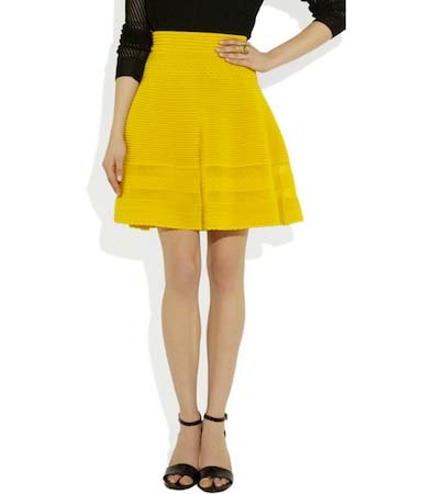 Spring Style Notes: The A-Line Skirt - theFashionSpot