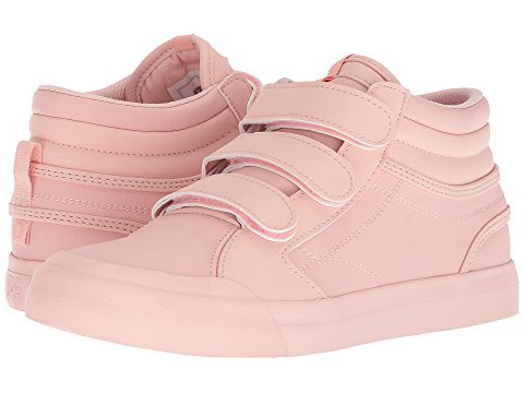 DC  Velcro Sneakers Are the Latest 'Ugly' Shoes to Be Embraced By the Fashion Set dc evan hi v se rosewater sneakers