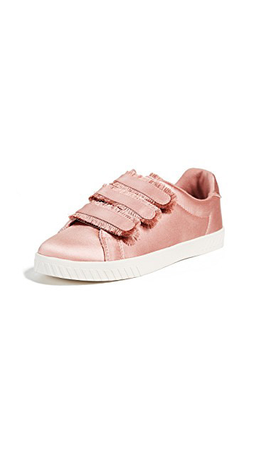 Tretorn  Velcro Sneakers Are the Latest 'Ugly' Shoes to Be Embraced By the Fashion Set tretorn carry fringe velcro sneakers