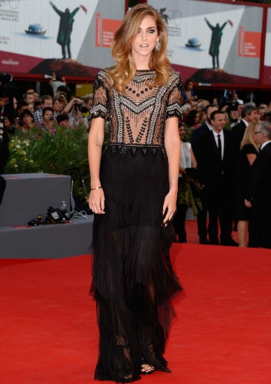 Chiara Ferragni at the Opening Ceremony and Premiere of Gravity