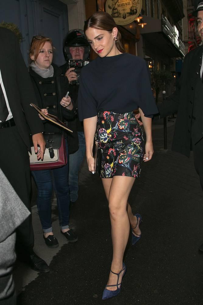 Emma Watson in Christian Dior