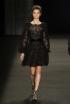 Black Lace at Monique Lhuillier