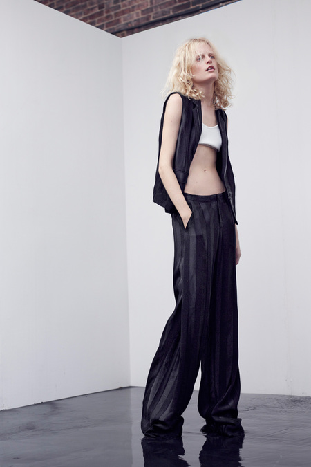 Loose Trousers at Theyskens Theory