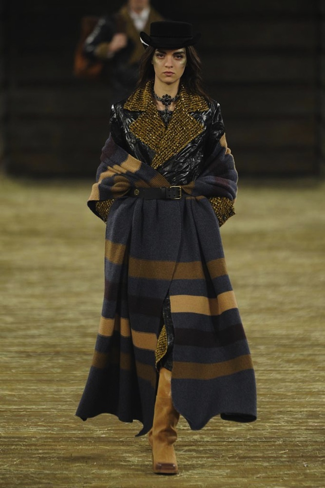 Chanel's Blanket Coat